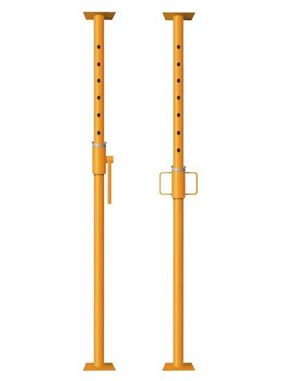 wynajem stemple metalowe (podpora) 3,60m